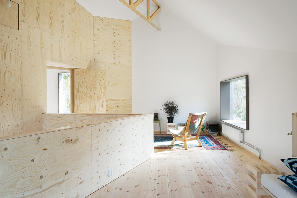 Asketisk lyx Arkitektur med krlek till plywood