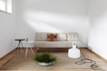 Soffa soffbord växt