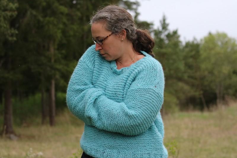 Skappelgenser - stortröja i mjukaste alpacka