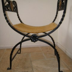 Folding Chair Liquidation Sponge Cushion 1923 Zwebell Iron Spanish  Fantastic