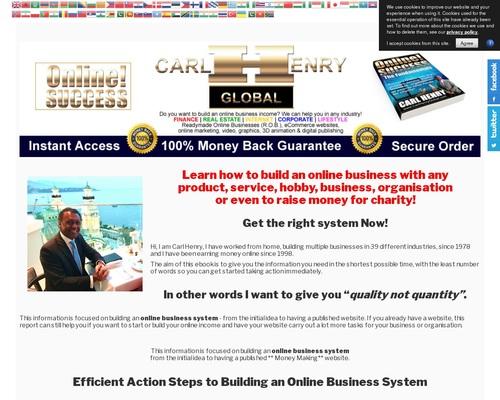 ONLINE! SUCCESS - An Online Business Building System ...