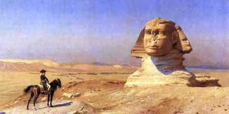 Napoleão diante da Esfinge