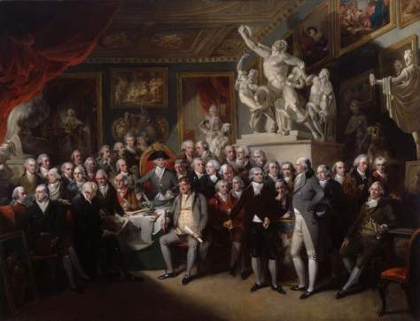 Singleton, Henry; The Royal Academicians in General Assembly; Royal Academy of Arts;