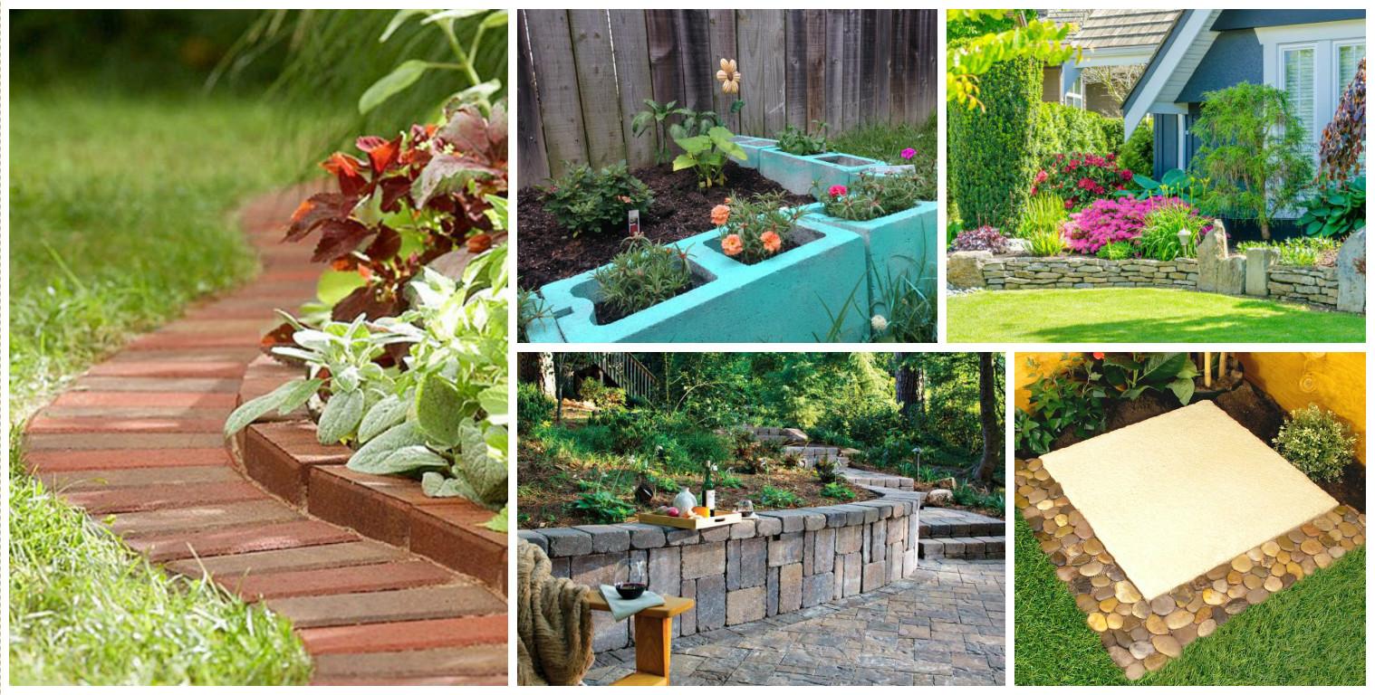15 Creative Garden Edging Ideas For A Better Outdoor Look