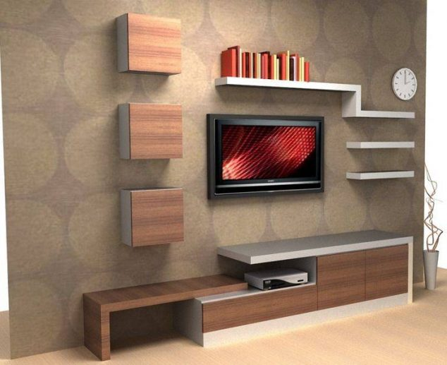 Corner Showcase Designs For Living Room 15 Serenely Tv Wall Unit Decoration You Need To Check