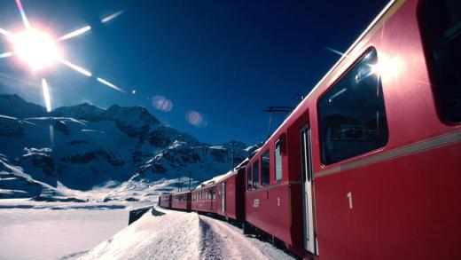 Skitrein Alpen