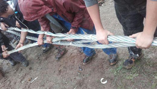 Seilspleissen, hoe maak ik een kabel op een skilift?