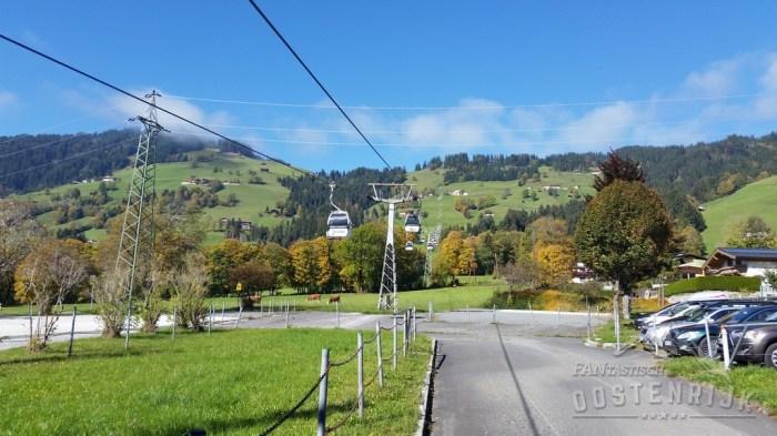 SkiWelt Bergbahn hoch Brixen