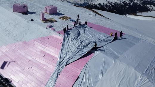 """Kitzbühel gaat weer aan """"snowfarming"""" doen"""