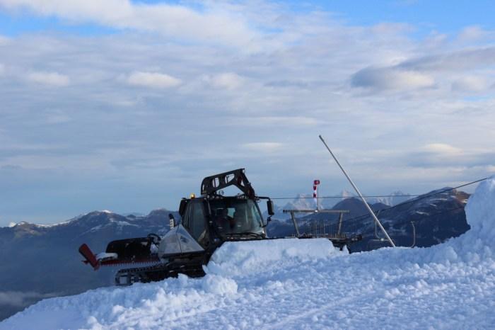 Kitzbühel Resterkogel sneeuwdepot