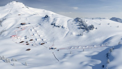 Sneeuwkanonnen Kitzbühelerhorn