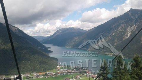 Achensee vanuit de Karwendel Pertisau. Patrick van Thiel