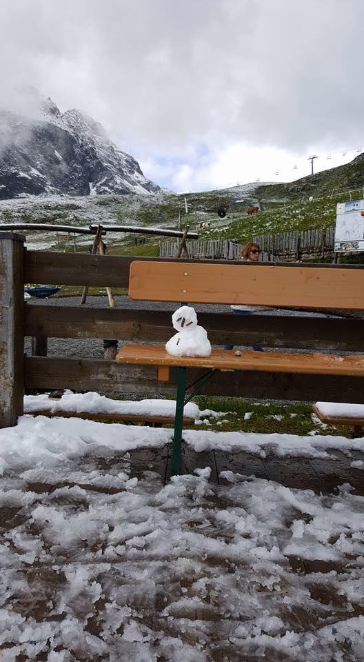 Sneeuwpop in augustus 2016 Marjolein Soethoudt