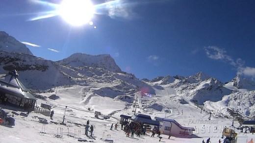 Stubaier Gletsjer Gamsgarten 23 oktober 2016