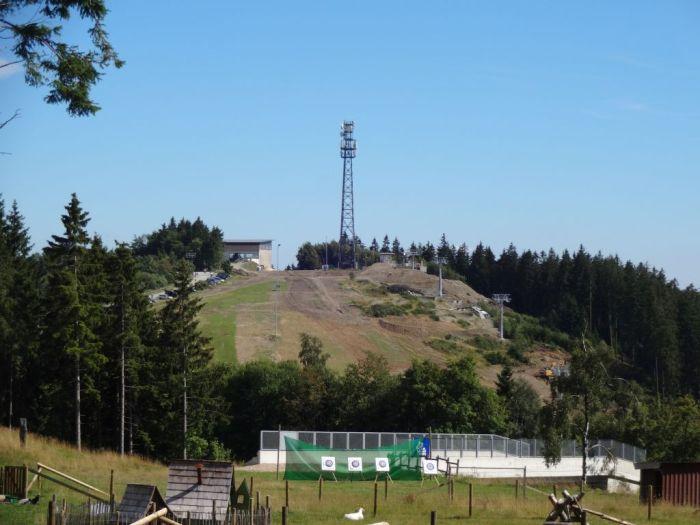 panoramabahn zicht vanaf schneewittchen