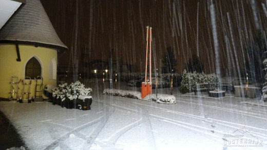 CampingWelt 1e sneeuwval