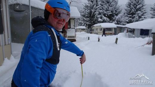 Bluetribe Sneeuwhoogte