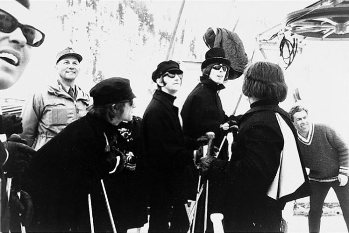 The Beatles Obertauern 1965 Help the movie