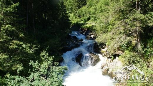 Wildewasserweg Grawa Waterval bij Renalt in Stubaital