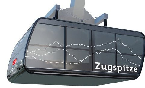 Zugspitze cabine