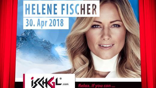 Ischgl Top of the Mountain Helene Fischer