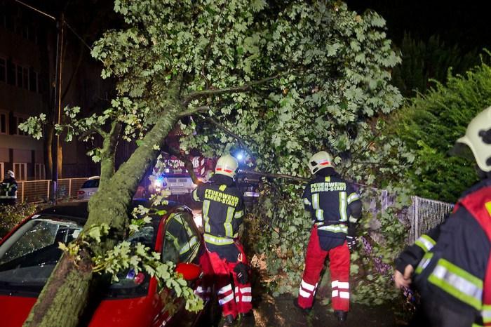 Noodweer Baden bij Wenen
