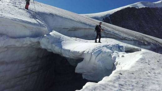 Gletsjerbrug