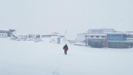 Kaprun 1e sneeuwval
