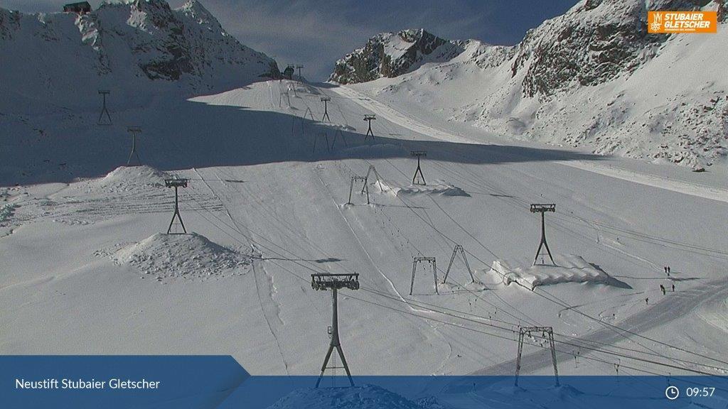 Komende dagen baksneeuw voor gletsjers?