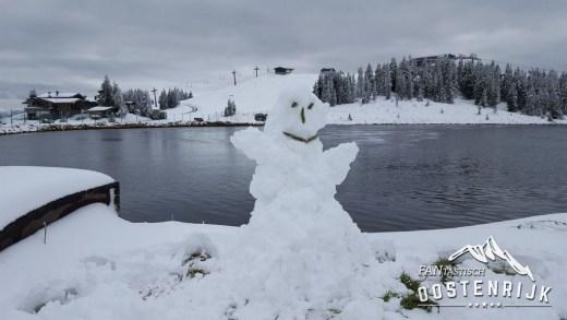 Sneeuwbom nog steeds op de kaarten?