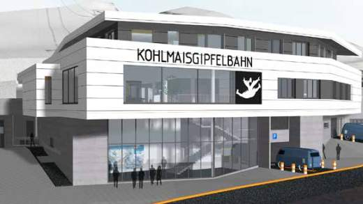 Kohlmaisgipfelbahn dalstation