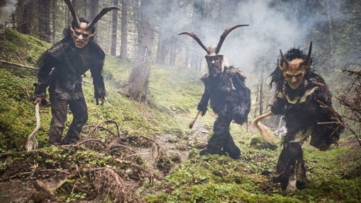 Sinterklaas komt aan in Saalbach Hinterglemm en wie is Krampus?