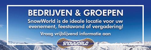 Snowworld banner groot