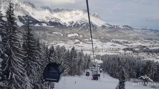 SkiWelt de dag na de storm 18 januari 2018