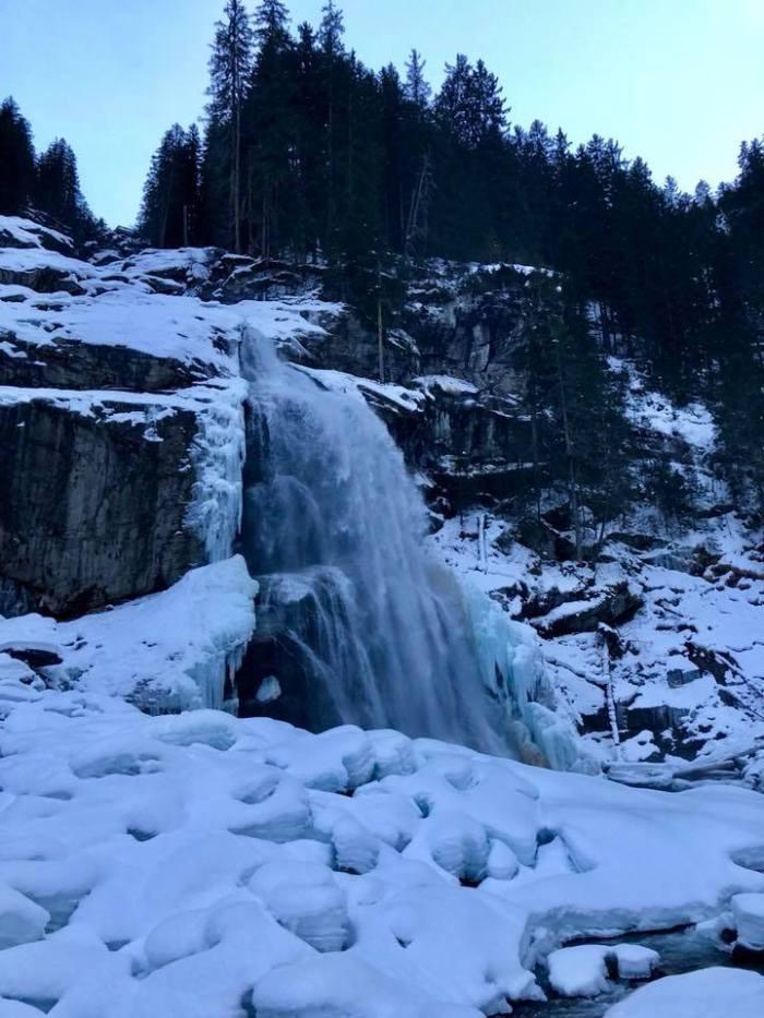 Krimml Wasserfalle Waterval Krimml