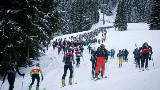 Mountain attack saalbach 2018