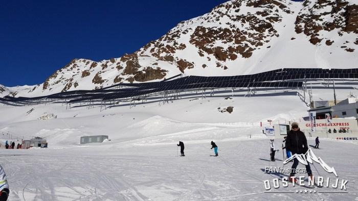 Pitztaler Gletsjer Zonnepaneel