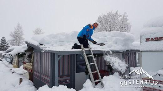 Terugblik 21 januari naar sneeuwdump en Hahnenkamm