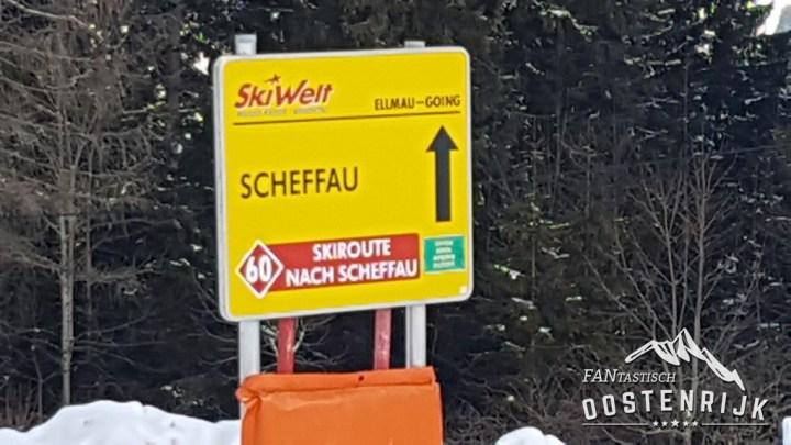 Ellmau Schmiedalm naar Scheffau