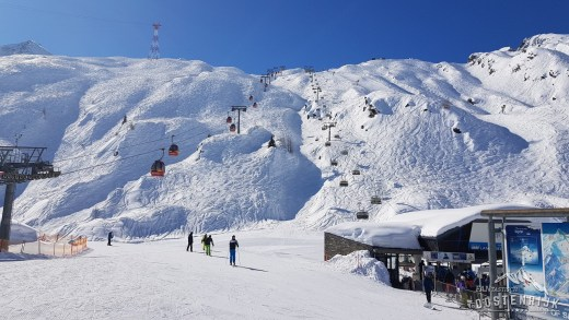 Skistart Kaprun Kitzsteinhorn 3 oktober 2020