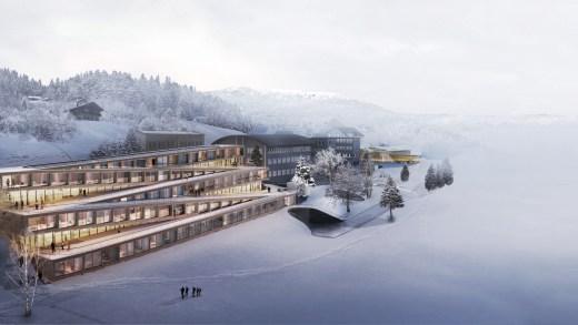 Skiën vanaf het dak van je hotel