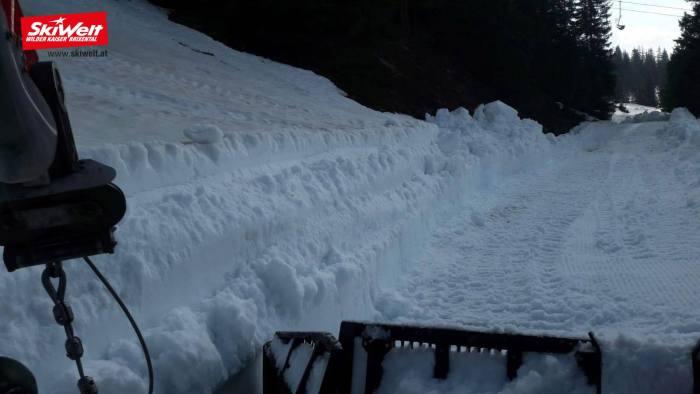 SkiWelt einde winterseizoen