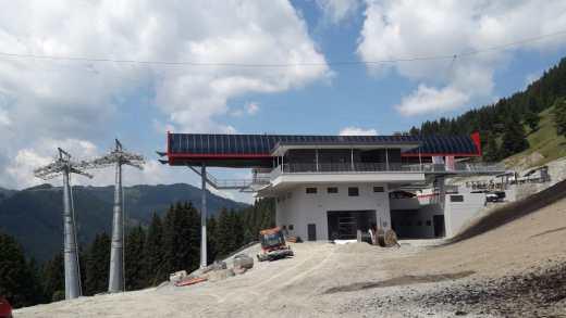 Bouwupdate: Kohlmaisbahn Saalbach Hinterglemm deel 7