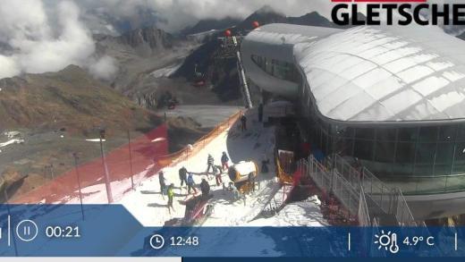 Pitztaler Gletsjer vandaag OPEN