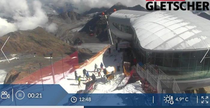 Pitztal Gletsjer open 15 sep 2018