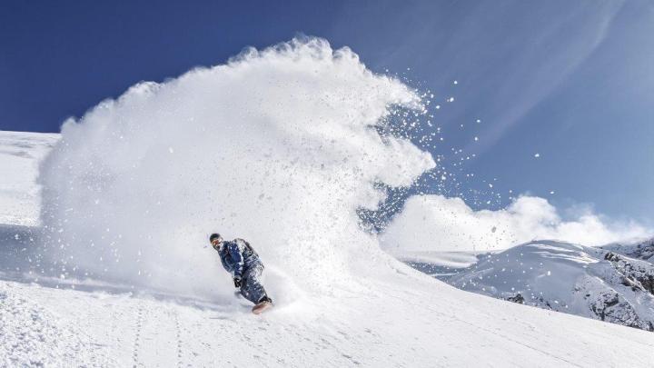 Snowboarden Topfoto
