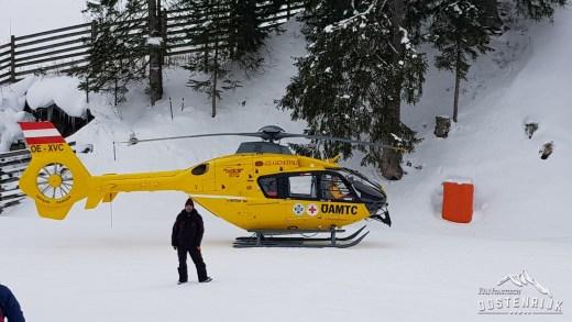 Kitzbühel Steinbergkogel Helikopter