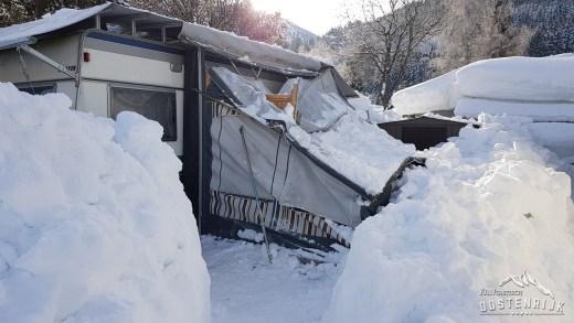 Rondje CampingWelt en skiën naar de Camping