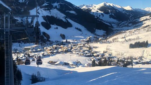 Saalbach vanaf de Kohlkmais