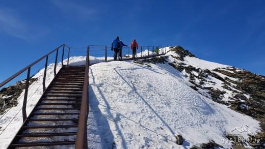 Top of Tirol Stubaier Gletsjer 3.210 meter